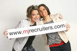 Maria Hemminger and Joanna Spaun, Owners/Partners of MJ Recruiters